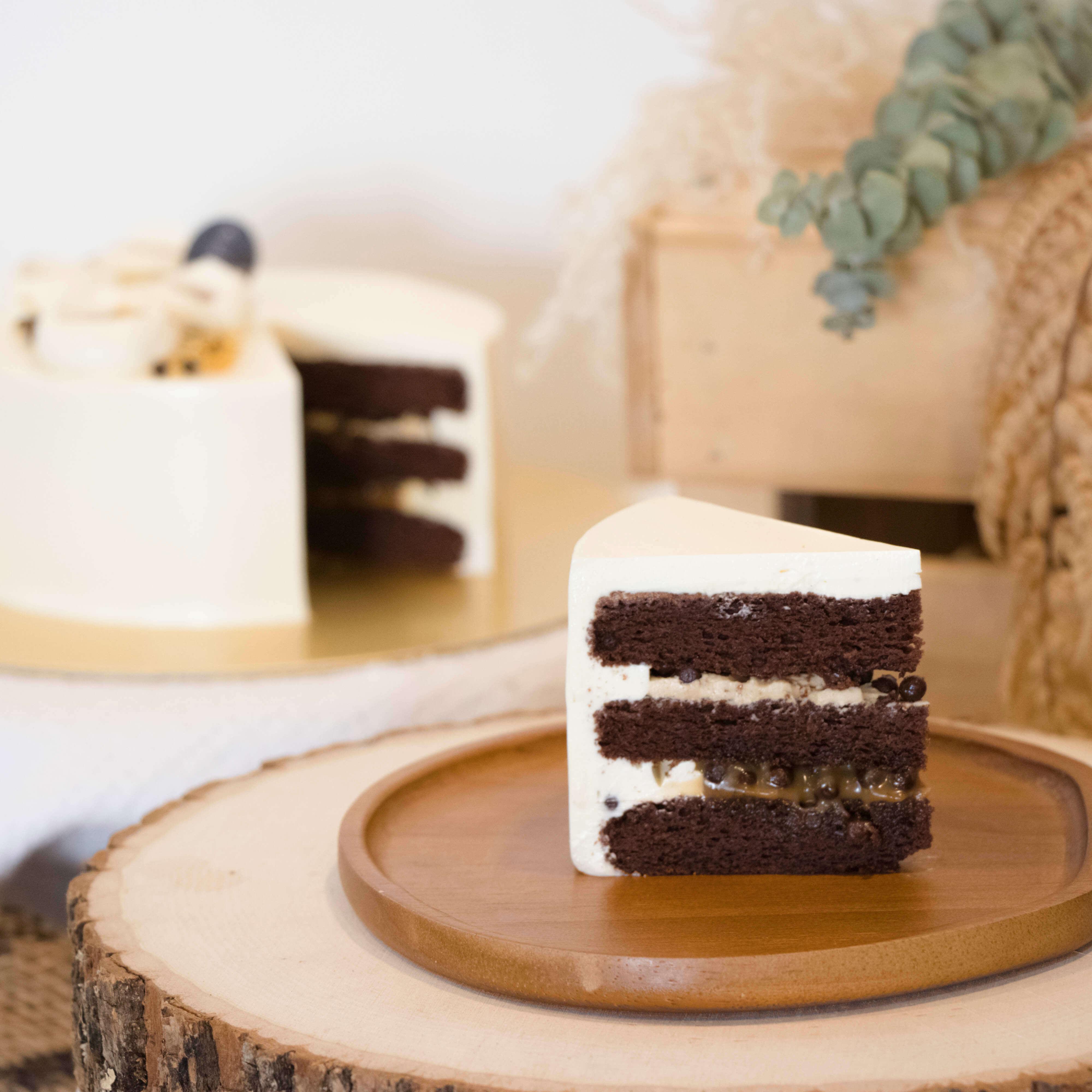 Sea Salt Caramel Chocolate Cake