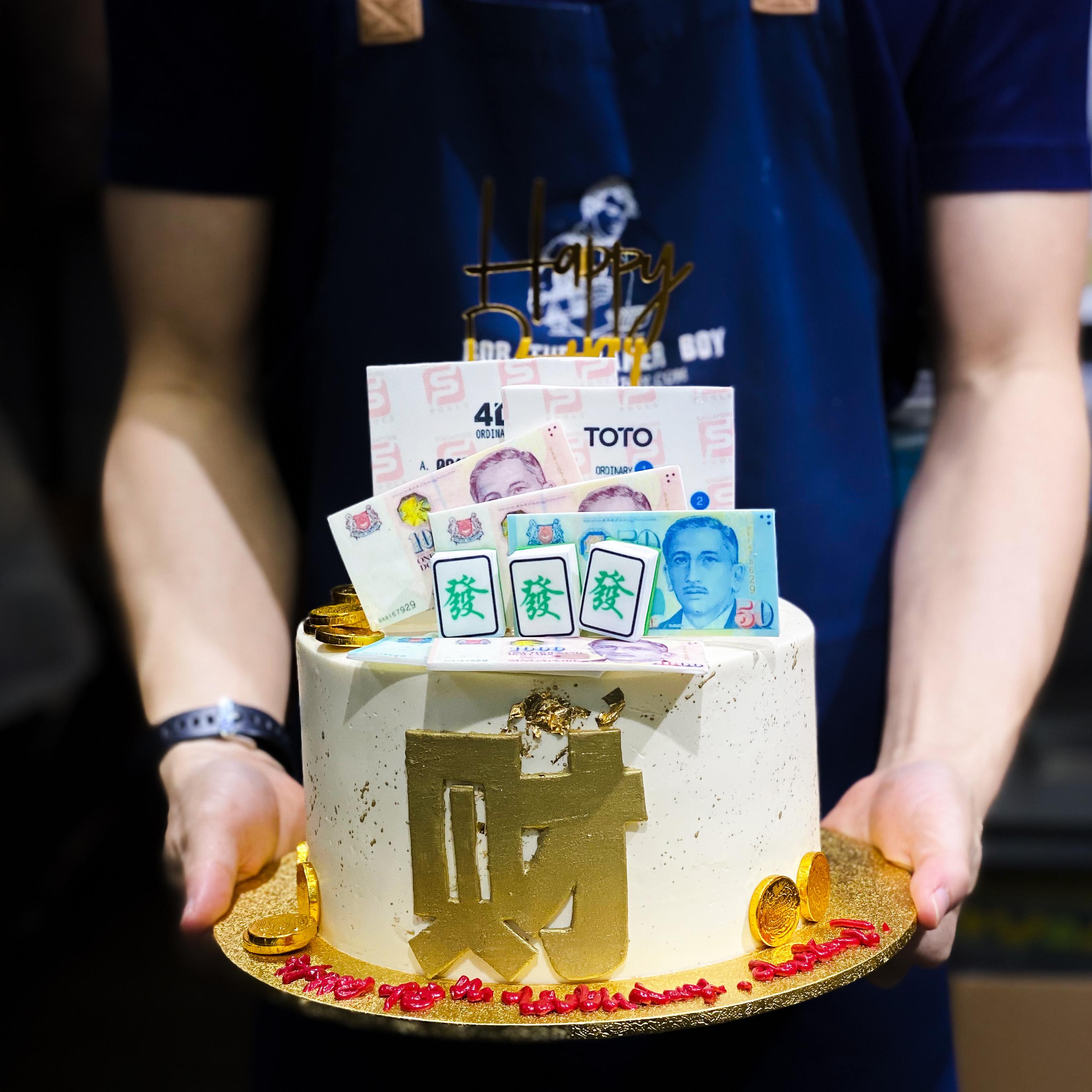 Fa Cai Toto and 4D Lottery Cake