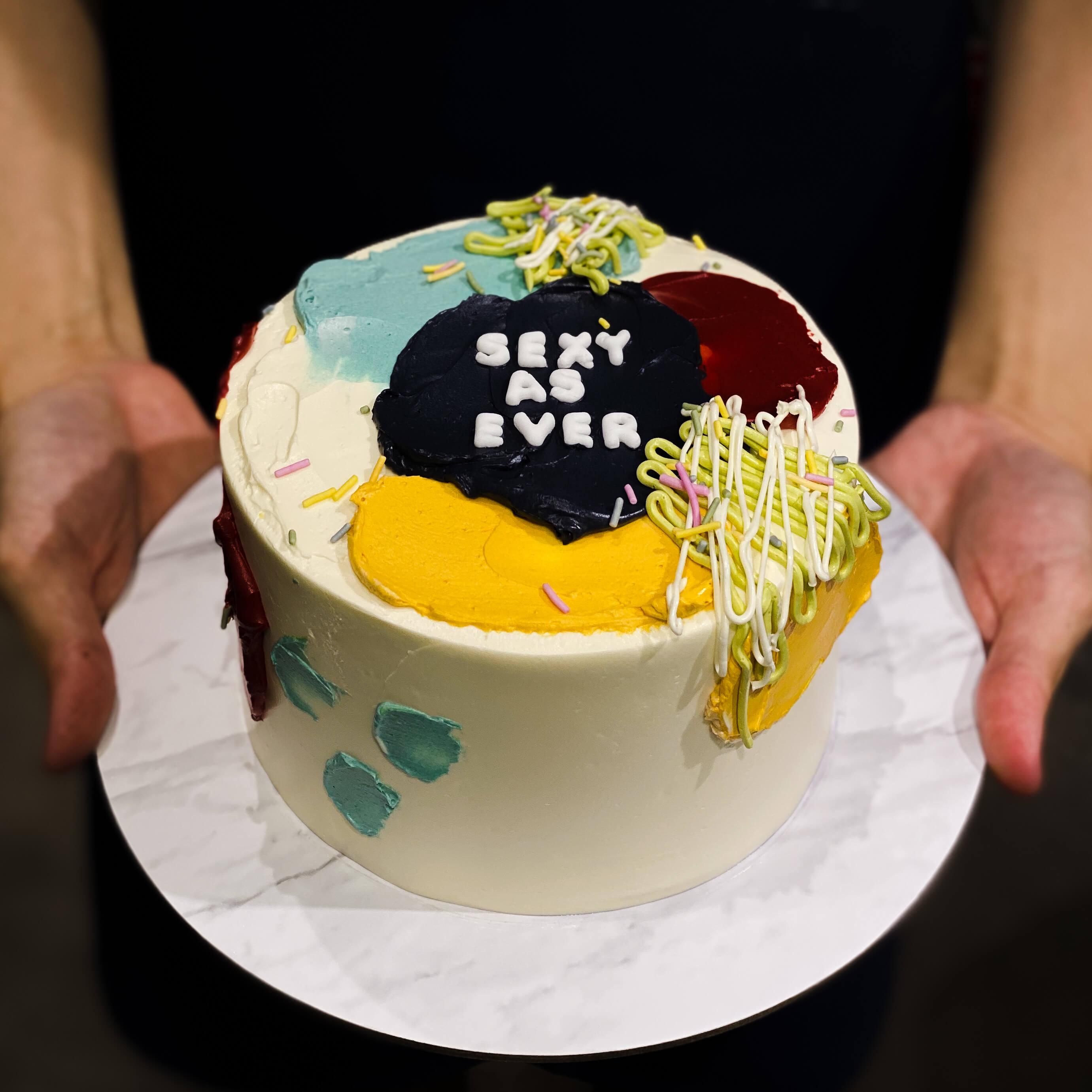 Remarkable Customised Korean Cakes Singapore Bob The Baker Boy Personalised Birthday Cards Epsylily Jamesorg