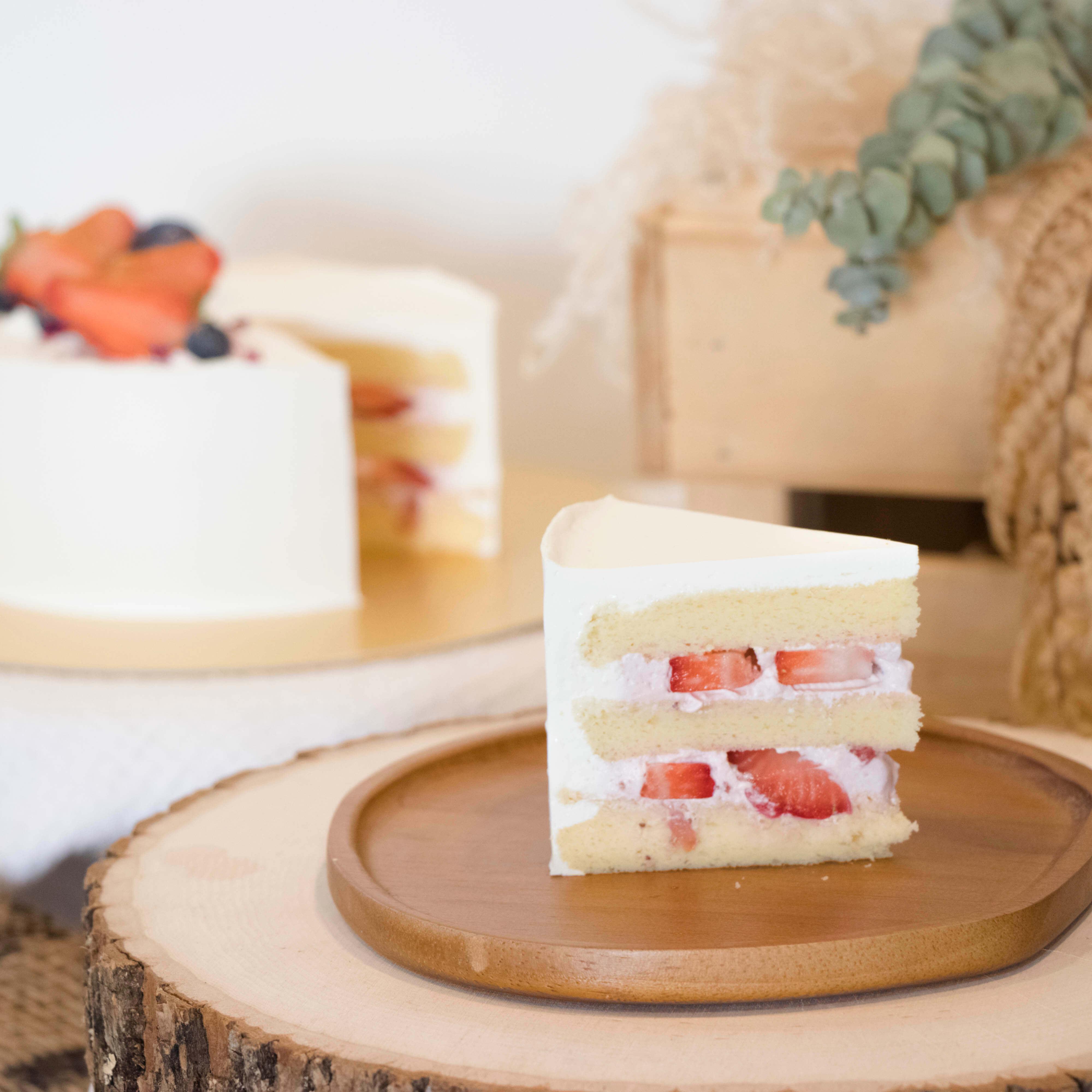 Light Japanese Strawberry Shortcake
