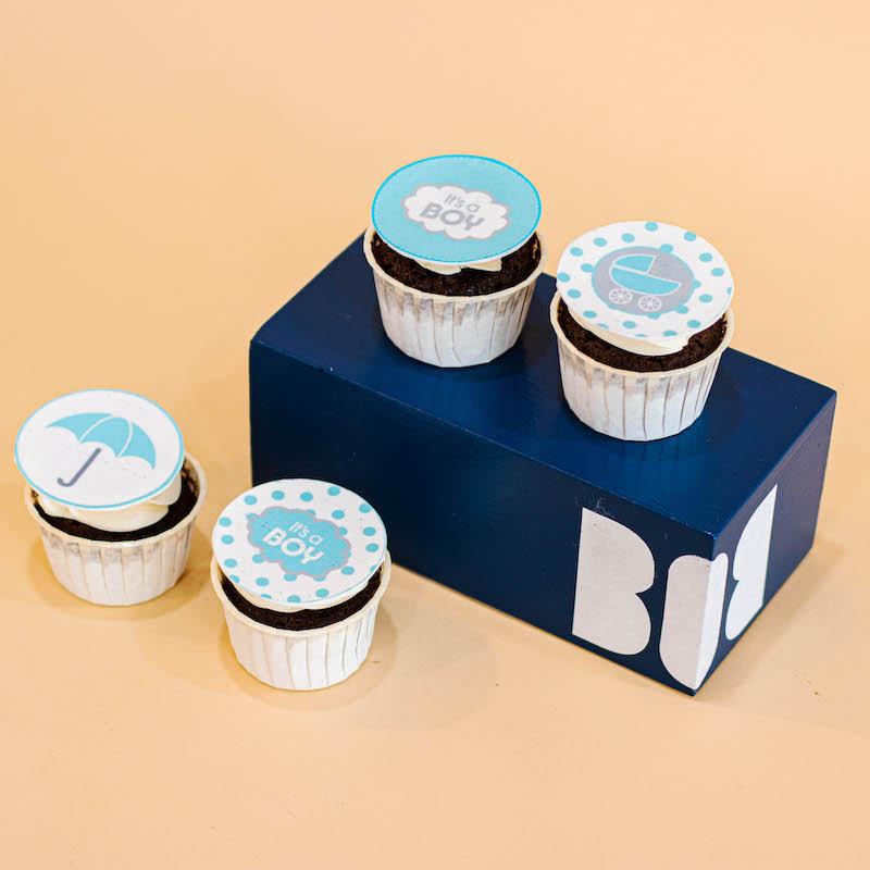 Edible Printed Cupcakes (Dozen)