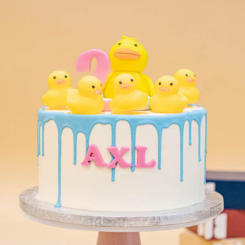 Five Little Ducklings Nursery Cake