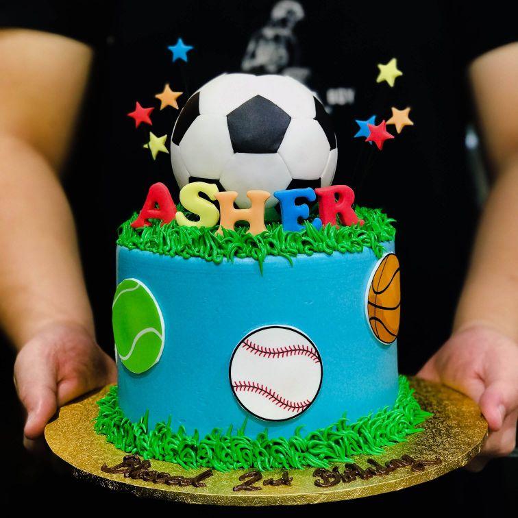 Balls Cake with Stars