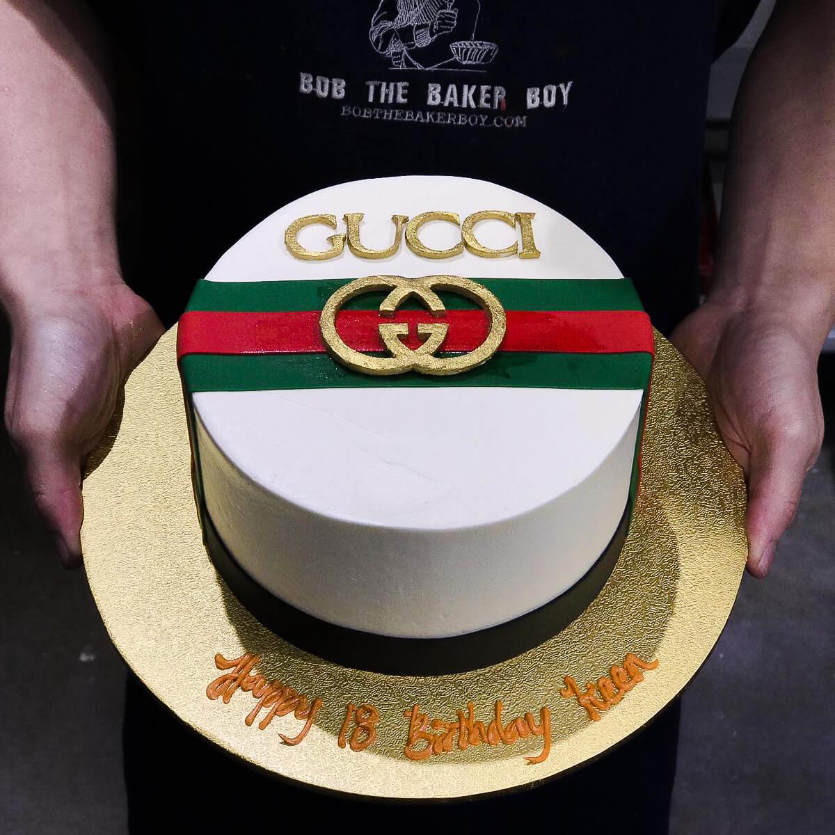 Luxury Bag Themed Birthday Cake