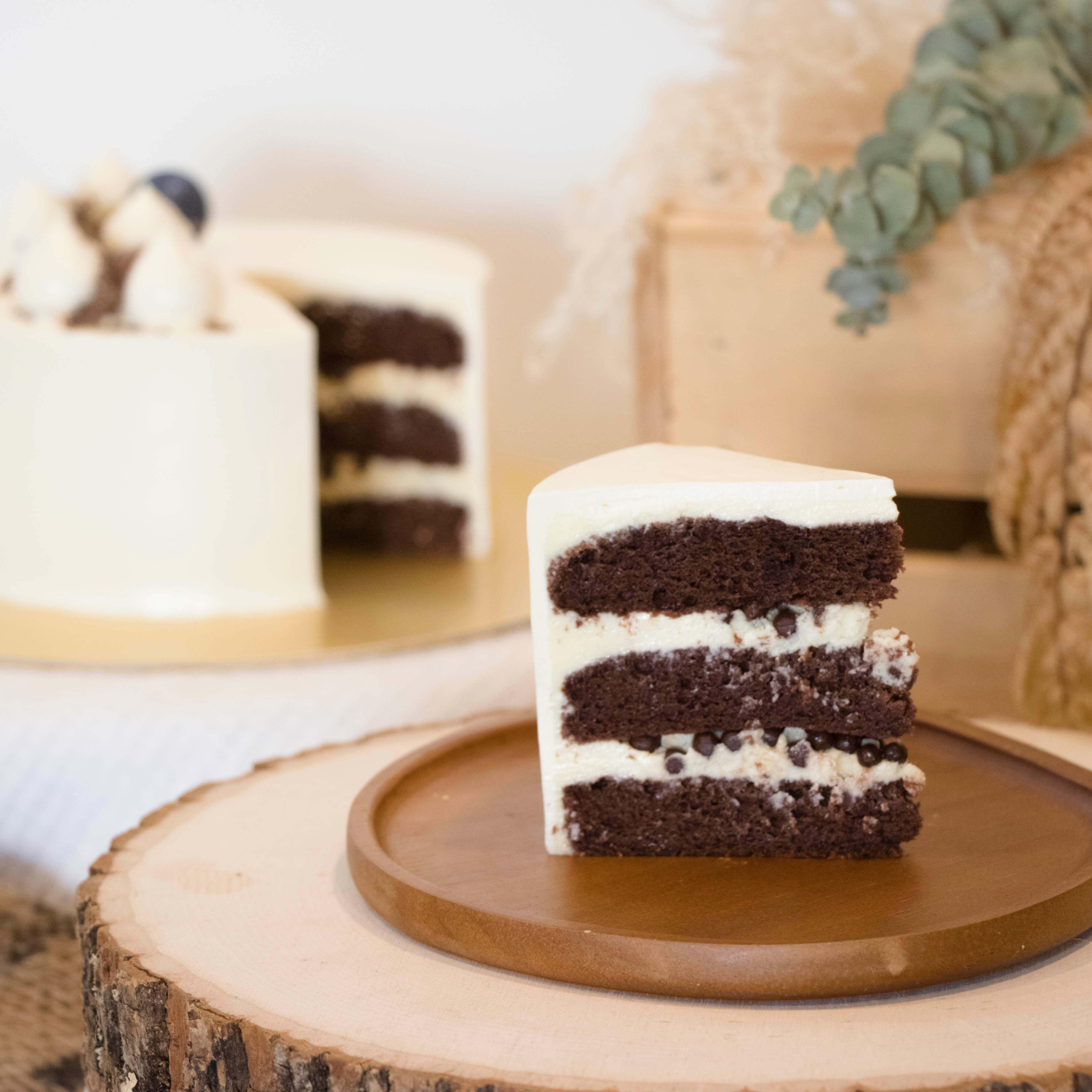 Black Velvet Cake with Cream Cheese