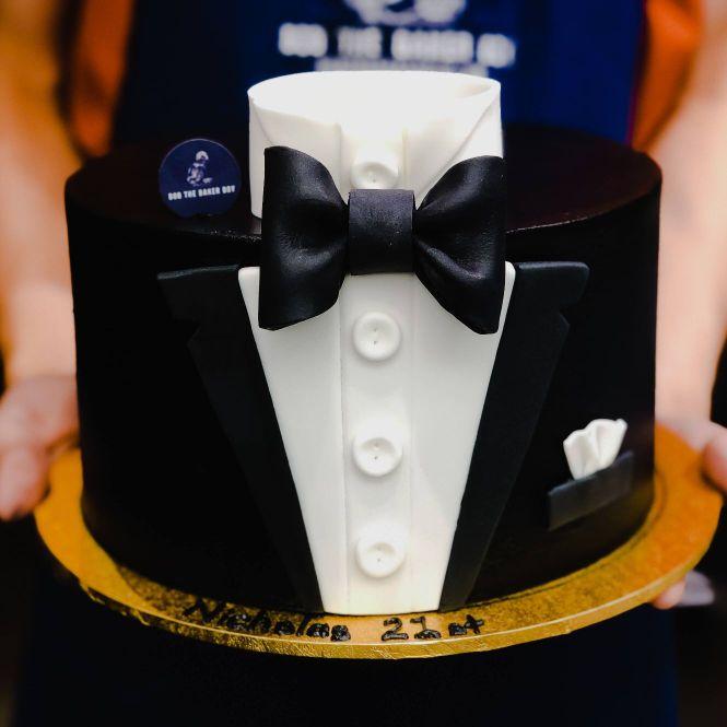 Mr Gentleman Tuxedo Cake