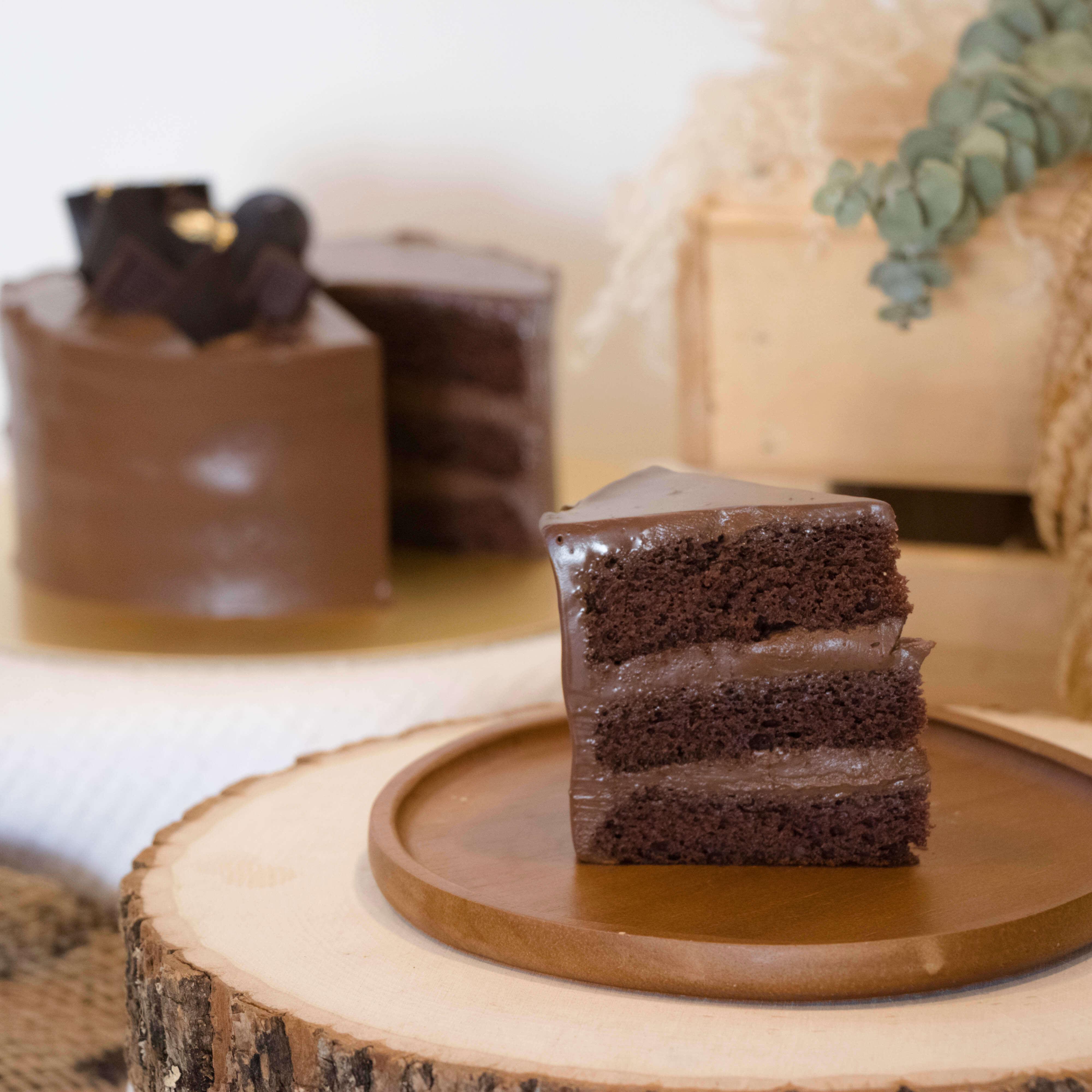 Signature 55% Belgian Chocolate Cake