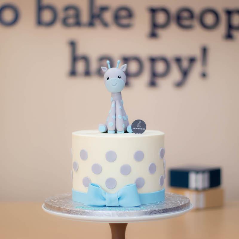 Giraffe Kid's Birthday Cake