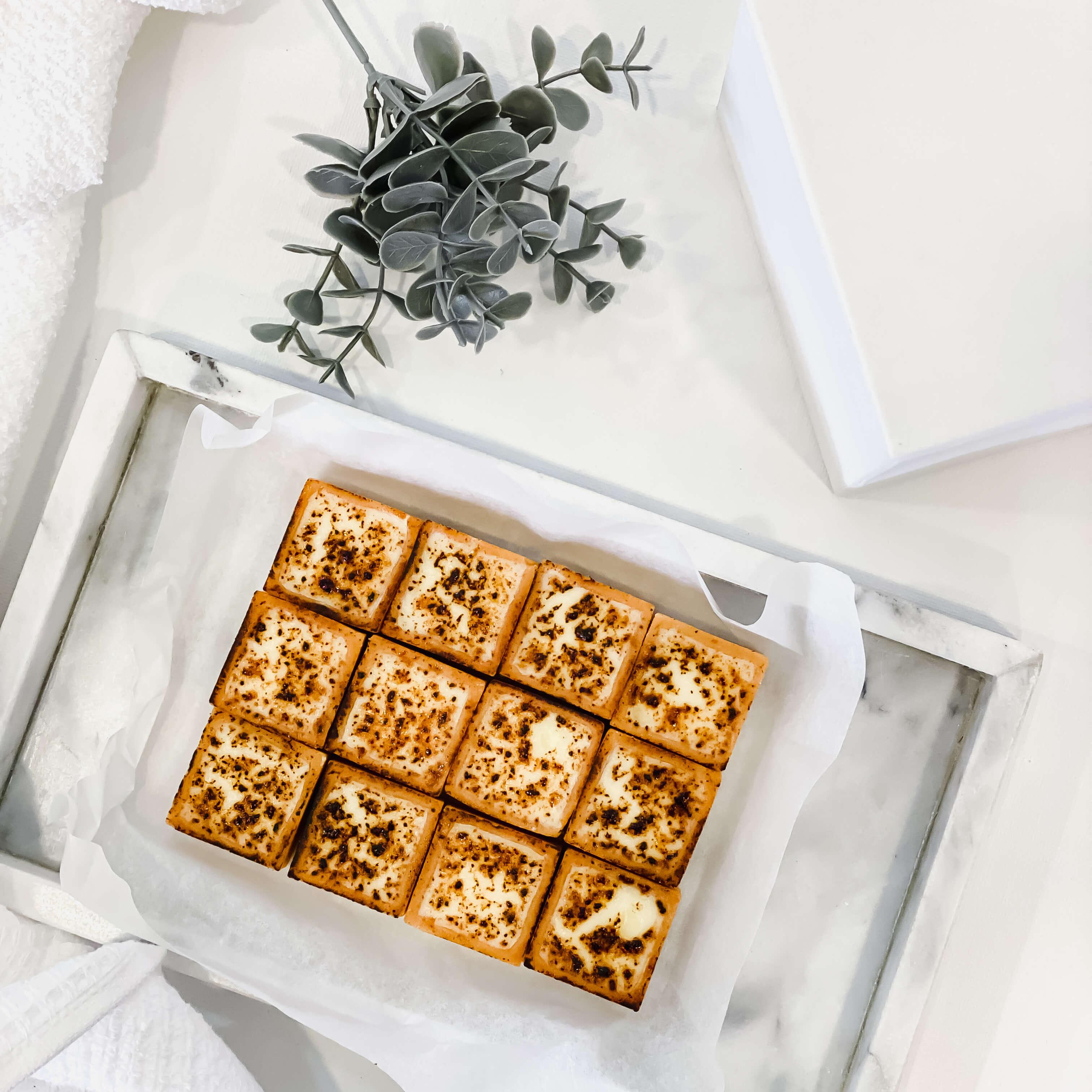 Brûlée Cheese Tarts (12pcs)